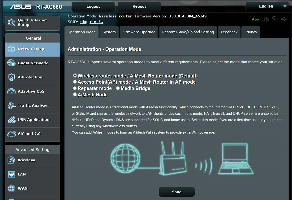 RMerlin (ASUSWRT-Merlin) Firmware and the ASUS DSL-AC68U